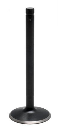 "Valve, Black Diamond™ Stainless, 44mm, Std. IN, Moto Guzzi®, 2-Valve ""Big-Blocks"", 1971-2012 picture"