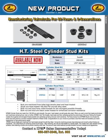 H.T. Steel Cylinder Stud Kit flyer for Suzuki® LTR™ 450 / 450Z 2006-2009 picture