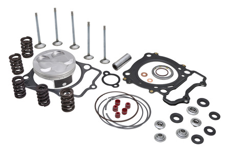 "Top End Service Kit, Stainless Conv., 0.380"" Lift, Yamaha®, YFZ™ 450, 2004-2009 picture"