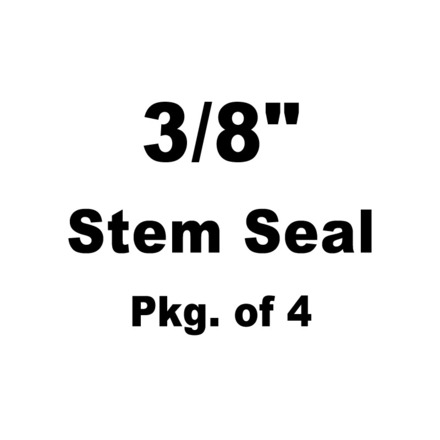 "Seal, PC Style,  3/8"" Stem x 0.530"" Guide Seal Detail (Pkg. of 4) picture"