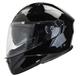 Vega Caldera 2 Modular Motorcycle Helmet (Gloss Black, Large)