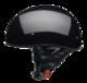 Vega Sniper Gloss Black Half Helmet 2X-Large 63-64 CM