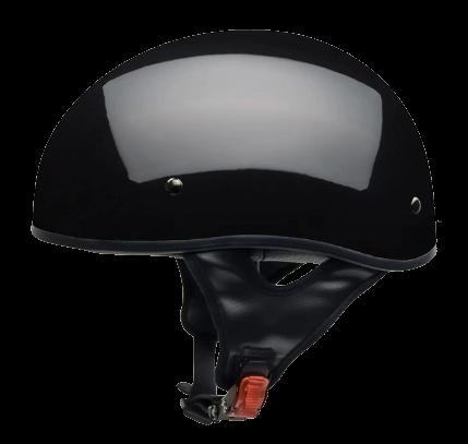 Vega Sniper Gloss Black Half Helmet Small 55-56 CM picture