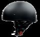 Vega Sniper Matte Black Half Helmet X-Large 61-62 CM
