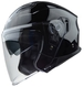 Vega Magna Touring Helmet (Gloss Black, Large)