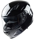 Vega Ultra Max Full Face Helmet (Gloss Black, Large)