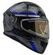 Vega Caldera 2 Modular Snowmobile Helmet (Blue Blade, X-Large)