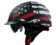 Vega Warrior Half Helmet (Back the Red, Small)