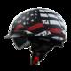 Vega Warrior Half Helmet (Back the Red, Medium)