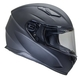 Vega Ultra II Full Face Helmet (Matte Black, Large)