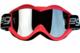 Vega Off Road Pink Goggles w/ Mirror Lens
