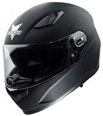 Vega Ultra Max Full Face Helmet (Matte Black, Large)