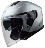 Vega Magna Touring Helmet (Silver, Large)