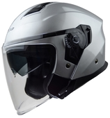 Vega Magna Touring Helmet (Silver, Small)