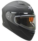 Vega Caldera 2 Modular Snowmobile Helmet (Matte Black, X-Small)