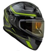 Vega Caldera 2 Modular Snowmobile Helmet (Hi-Vis Blade, Medium)
