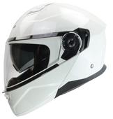Vega Cadlera 2 Modular Motorcycle Helmet (Pearl White, Large)