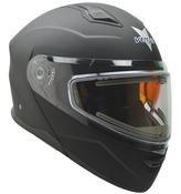 Vega Caldera 2 Modular Snowmobile Helmet (Matte Black, Large)
