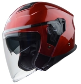 Vega Magna Touring Helmet (Candy Red, Small)