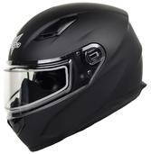Vega Ultra II Full Face Helmet with Dual Lens Snow Shield (Matte Black, Medium)