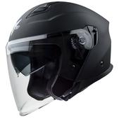 Vega Magna Touring Helmet (Matte Black, Medium)