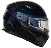 Vega Ultra 2 Snowmobile Helmet w/Heated Shield (Gloss Black, Medium)