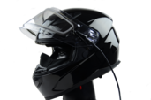 Vega Ultra Max Full Face Helmet (Gloss Black, X-Small)