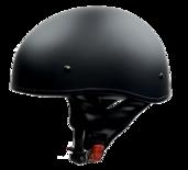 Vega Sniper Matte Black Half Helmet Medium 57-58 CM