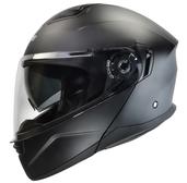 Vega Caldera 2 Modular Motorcycle Helmet (Matte Black, Large)