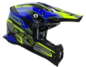 Vega MCX Adult Off-Road Helmet (Blue Stinger, Large)
