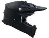 Vega MCX Adult Off-Road Helmet (Matte Black, Medium)