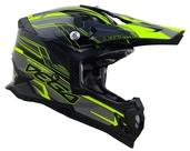 Vega MCX Adult Off-Road Helmet (Black Stinger, Large)