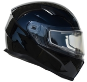 Vega Ultra 2 Snowmobile Helmet w/Heated Shield (Gloss Black, XX-Large)
