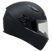 Vega Helmets 6100-060 Ultra Full Face Helmet for Men & Women (Matte Black, 6X-Large)