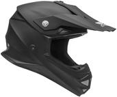 Vega Mighty X2 Youth Off-Road Helmet (Matte Black, Medium)