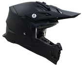 Vega MCX Adult Off-Road Helmet (Matte Black, XX-Large)