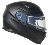 Vega Ultra 2 Snowmobile Helmet w/Heated Shield (Matte Black, Small)