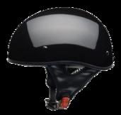 Vega Sniper Gloss Black Half Helmet Large 59-60 CM