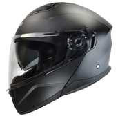 Vega Caldera 2 Modular Motorcycle Helmet (Matte Black, Small)
