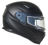 Vega Ultra 2 Snowmobile Helmet w/Heated Shield (Matte Black, Medium)