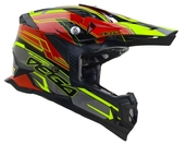Vega MCX Adult Off-Road Helmet (Red Stinger, X-Small)
