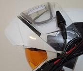 Vega Caldera 2 Modular Snowmobile Helmet (Pearl White, 3X-Large 65-66 cm)