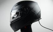 Vega Ultra Max Full Face Snowmobile Helmet with Heated Dual Lens Shield (Matte Black, Large)