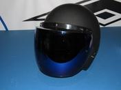 Vega 3-Snap flip shield in blue mirror - single