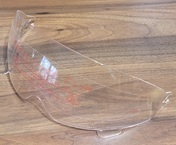 Vega X390 Clear Drop-down shield