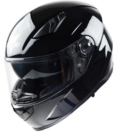 Vega Ultra Max Full Face Helmet (Gloss Black, Large) picture
