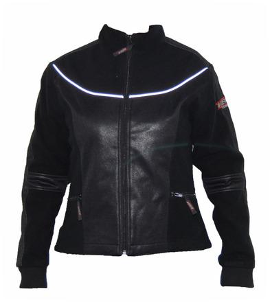 Vega Technical Gear Black Ladies Meridian Fleece Jacket in size Medium picture