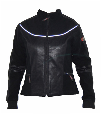 Vega Technical Gear Black Ladies Meridian Fleece Jacket in size Small picture
