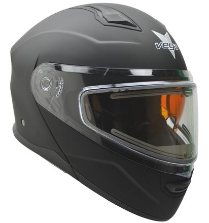 Vega Caldera 2 Modular Snowmobile Helmet (Matte Black, X-Large) picture
