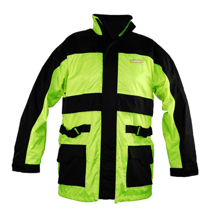 Vega Technical Gear Rain Jacket in Hi-Visibility Yellow size 2XSmall picture